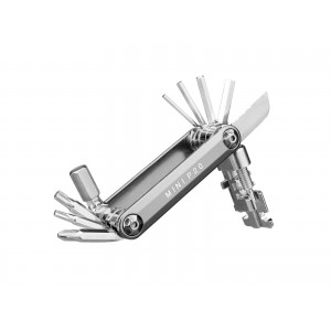 Topeak Mini P20 Srebrny - Zestaw 20 Narzędzi