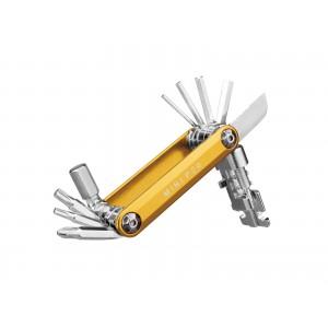 Topeak Mini P20 Złoty - Zestaw 20 Narzędzi