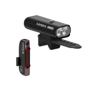 Zestaw lamp Lezyne Lite Drive 1000XL / Stick