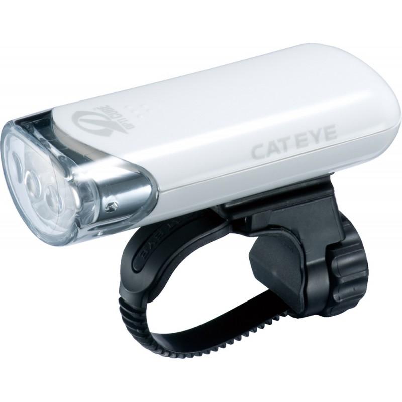CatEye HL-EL135N BIAŁA - lampa przednia