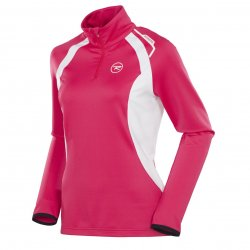 Rossignol Warm Stretch 1/2 Zip W Cochineal