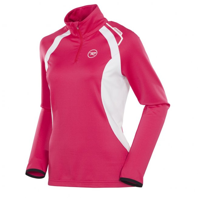 Rossignol WARM STRETCH 1/2 ZIP W Cochineal 12/13