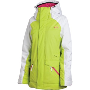 OAKLEY GRETE INSULATED JACKET BLACK
