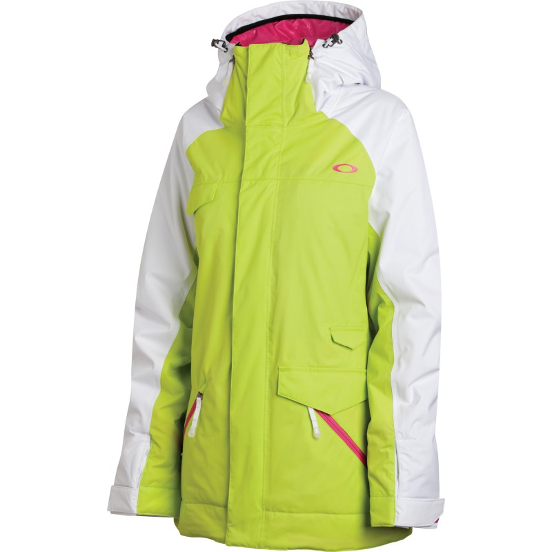 OAKLEY GRETE INSULATED JACKET LIGHTNING GREEN